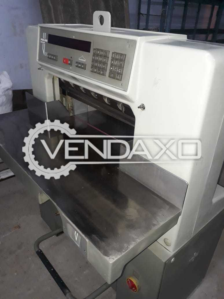 Polar Mohr Paper Cutting Machine - Size - 24 Inch