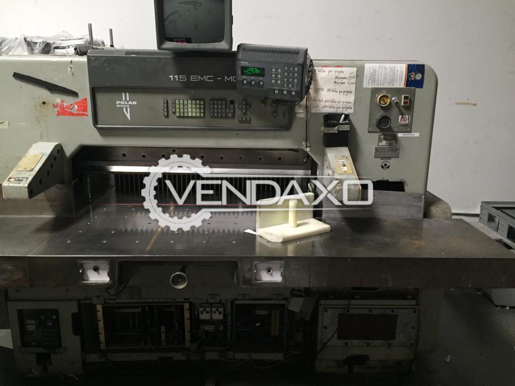 Polar 115 EMC Paper Cutting Machine - Size - 45 Inch