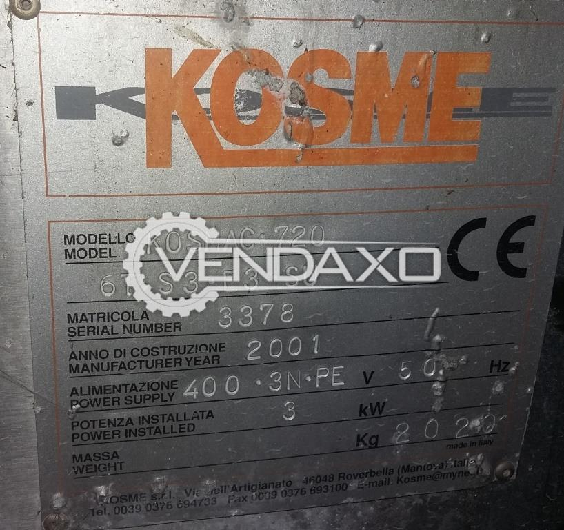 Kosme KOSMAC 720 6T S3 E3 SU Labeller