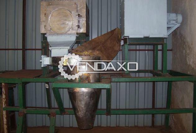 SS 304 Pulverizer System - 100 Kg/hr