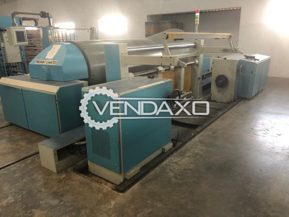 Prashant Gamatex Sectional Warping Machine - Width - 220 CM, 2010 Model