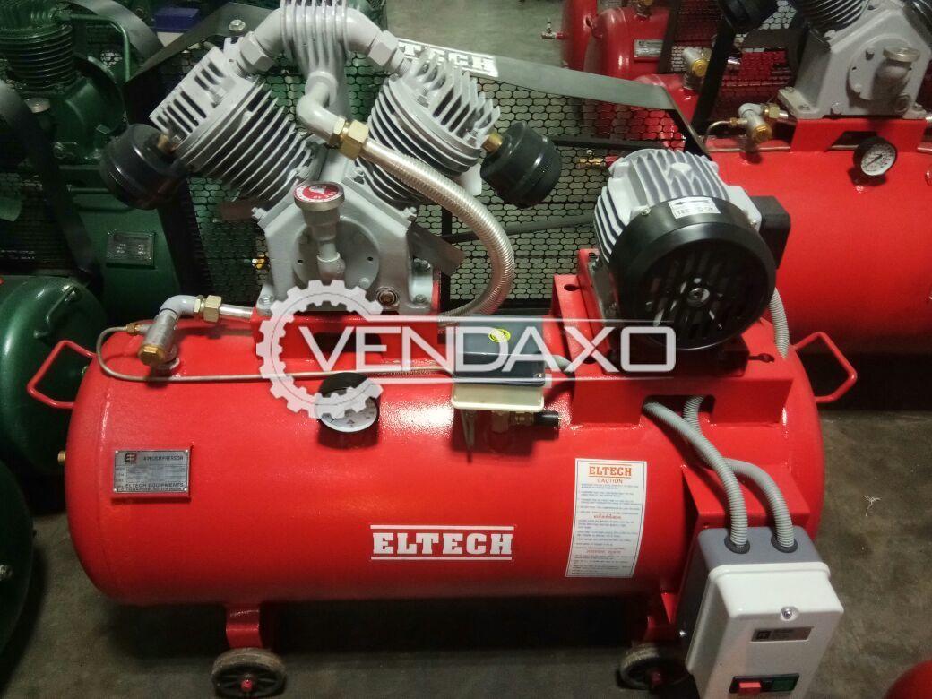 Eltech Air Compressor - Power - 3 HP, 2019 Model