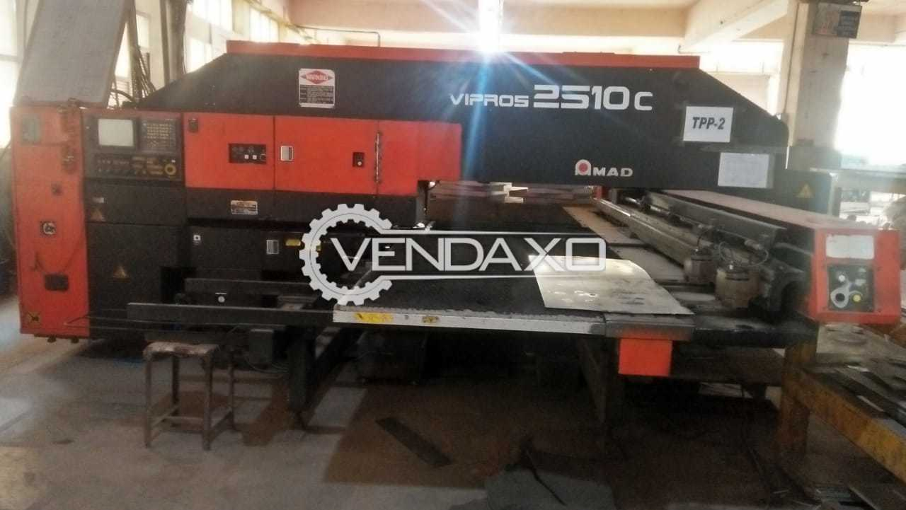 Used AMADA Vipros 2510C CNC Turret Punching Machine - 200 KN