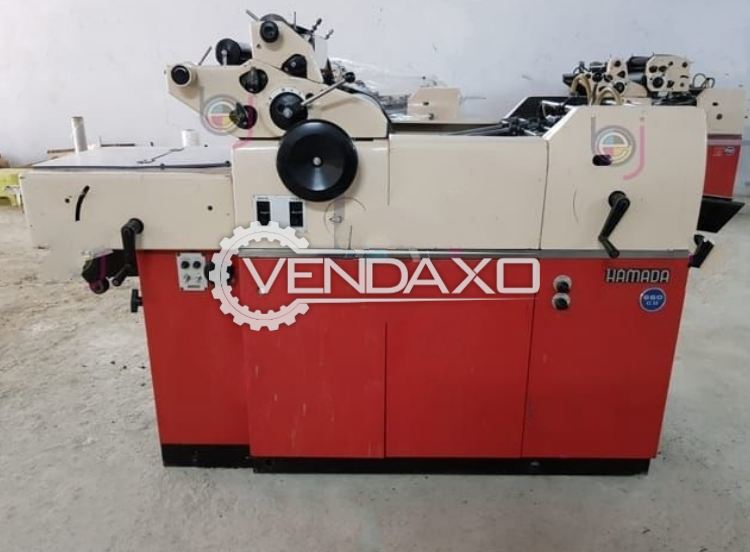 Used Hamada 600 Cd Mini Offset Printing Machine Size 11 X 17 Inch Single Color For Sale At Best Prices Vendaxo