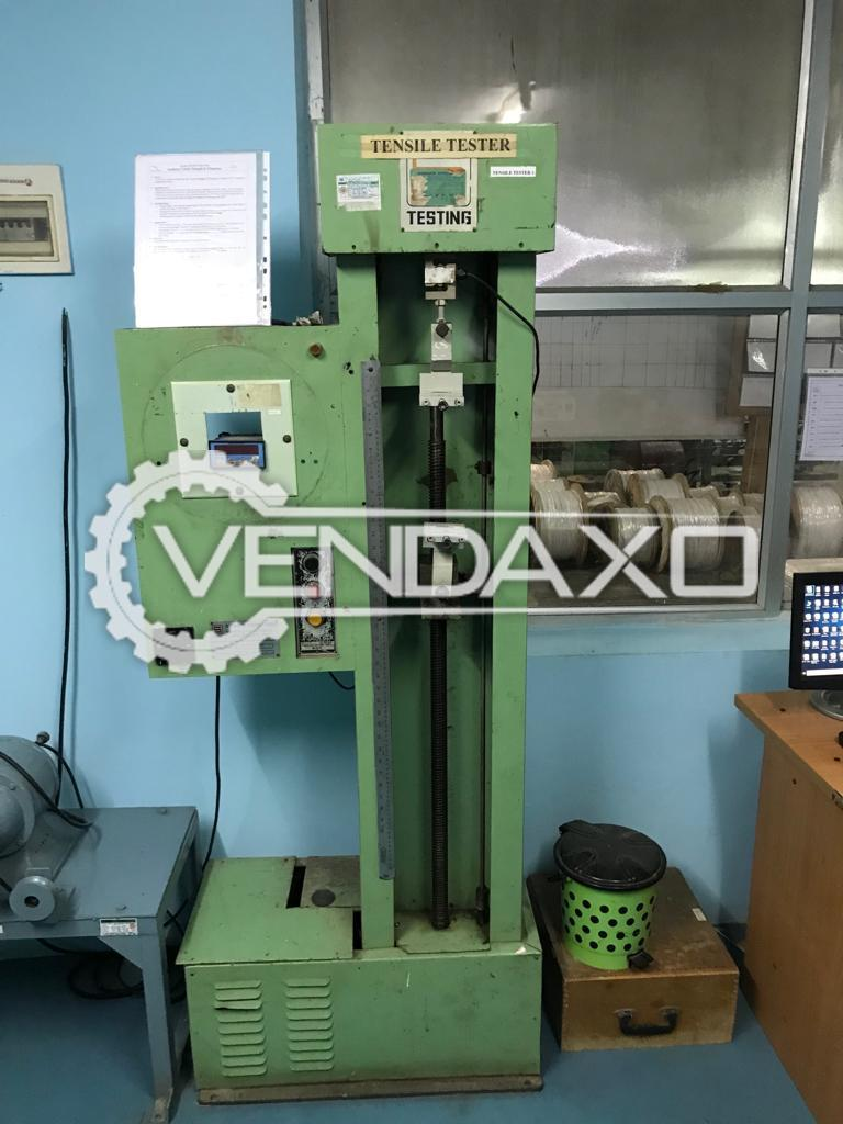 Available For Sale Extruder, Bunching, Twisting, Coiling, Braiding, Hot Air Oven, Water Tank Machine