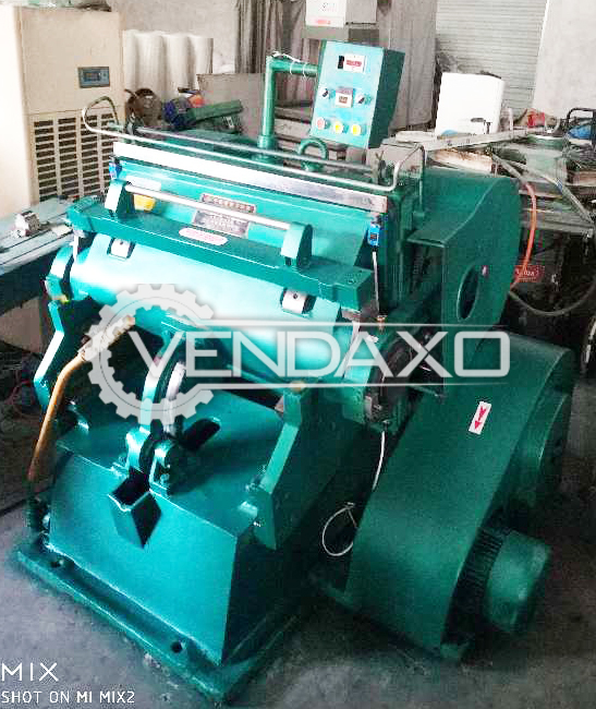 Automatic Hand-Fed Die Cutting Machine - Size - 25 x 36 Inch, 2011 Model