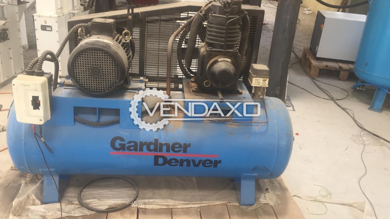 Gardner Denver RV-15 Reciprocating Air Compressor - 7.5 HP