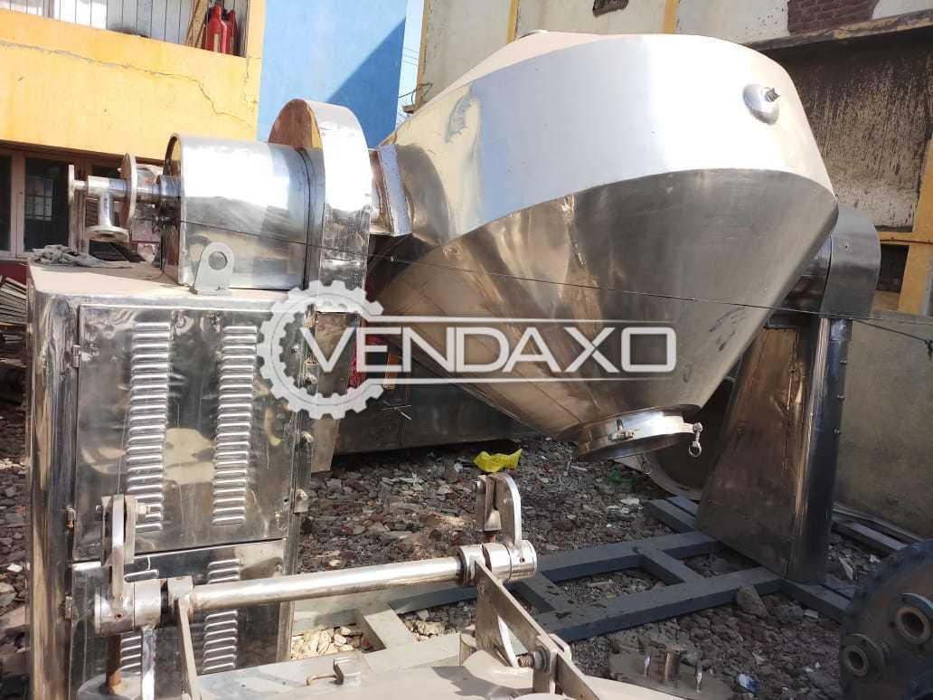 Roto Cone Vacuum Dryer (RCVD) - 2 KL