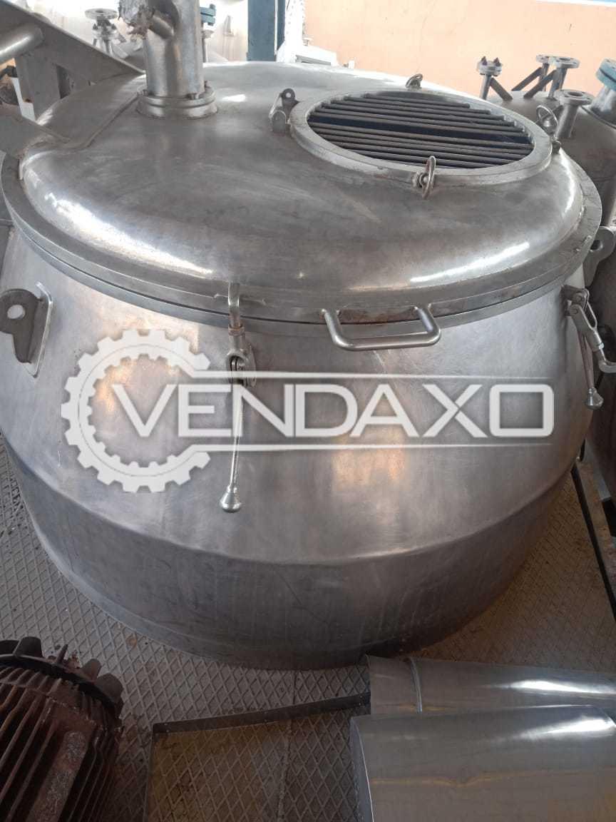 Roto Cone Vacuum Dryer (RCVD) - 1200 Liter