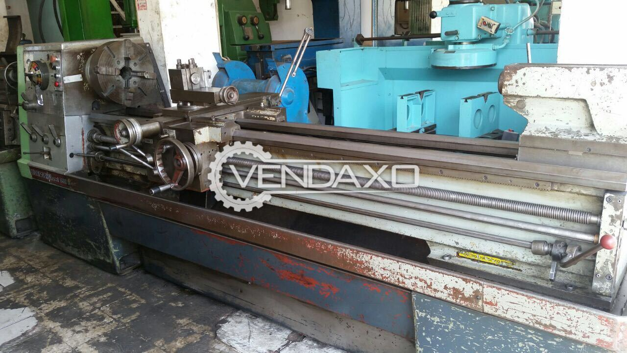 Colchester Lathe Machine - 3 meter length, 12 inch center