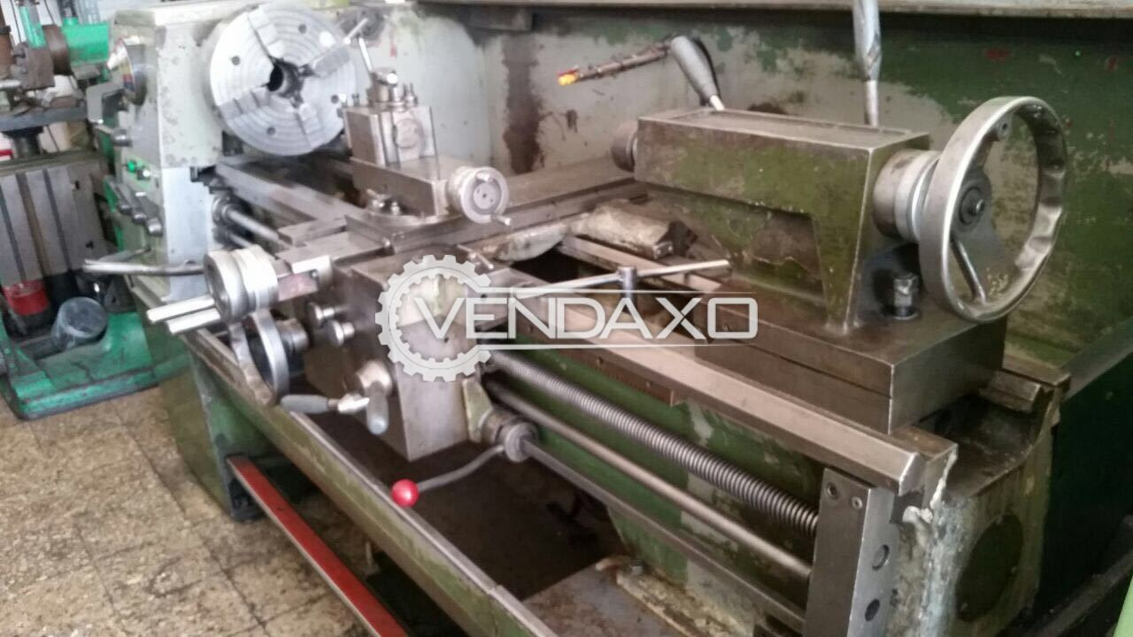 Colchester Lathe Machine - 2 meter length, 10 inch center