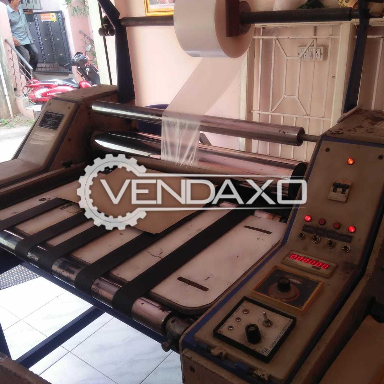 Sukant TL 30 Thermal Film Laminator Machine - Width - 30 Inch