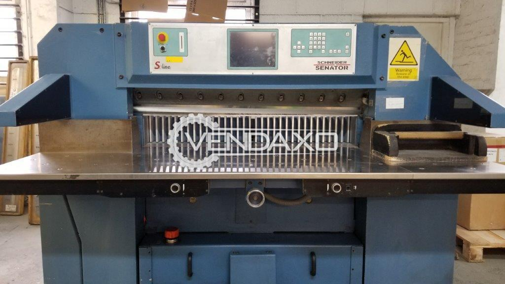 Schneider Senator 115H Paper Cutting Machine - 45 Inch, 1998 Model