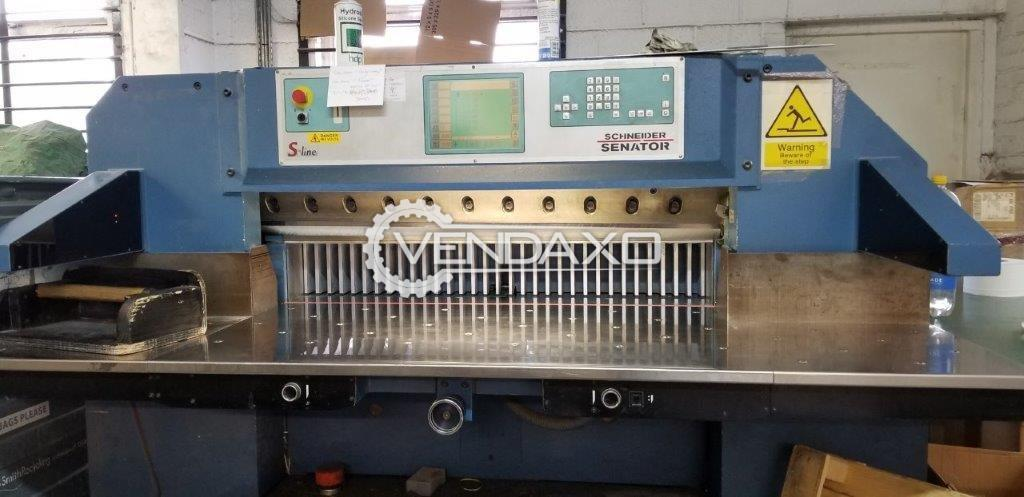 Schneider Senator 115H Paper Cutting Machine - 45 Inch, 2000 Model
