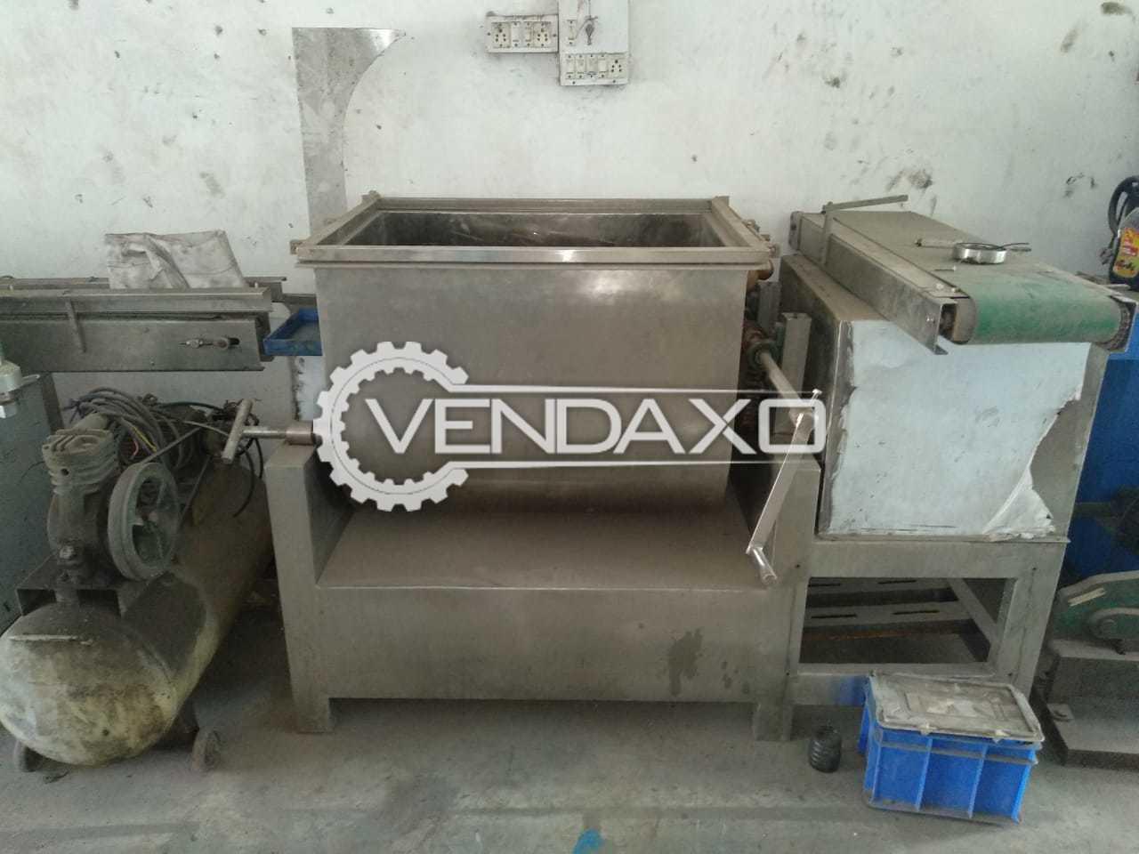 SS Mass Mixer - 100 Kg