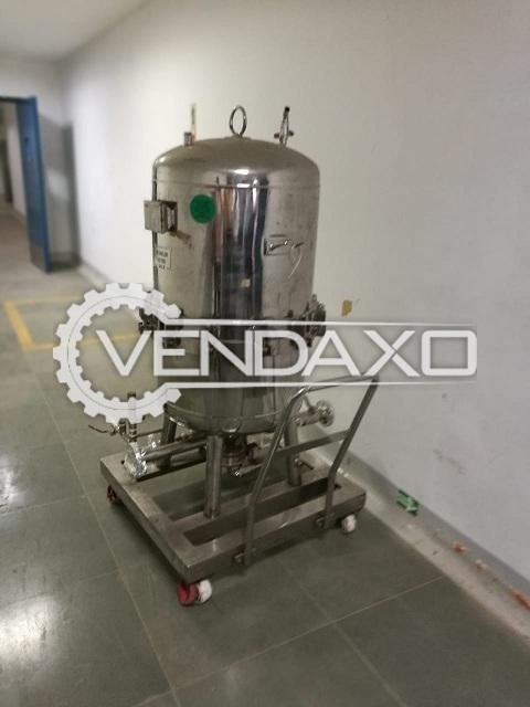Liquid Filter Press Machine - Size - 30 Inch