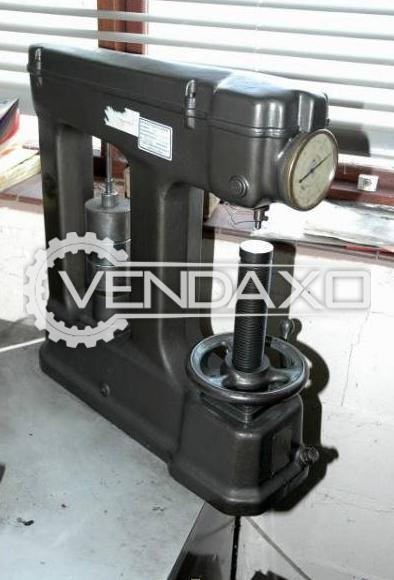 Available For Sale Avery 1410 Hardness Tester Machine - 1995 Model