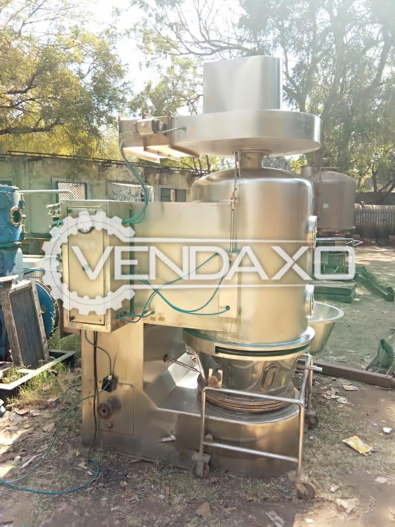 Fluid Bed Dryer (FBD) - 30 Kg
