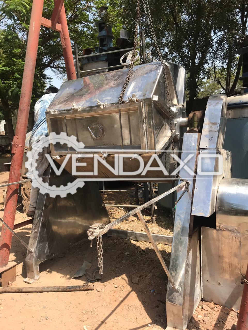 SS 316 Octagonal Blender - 1200 Liter
