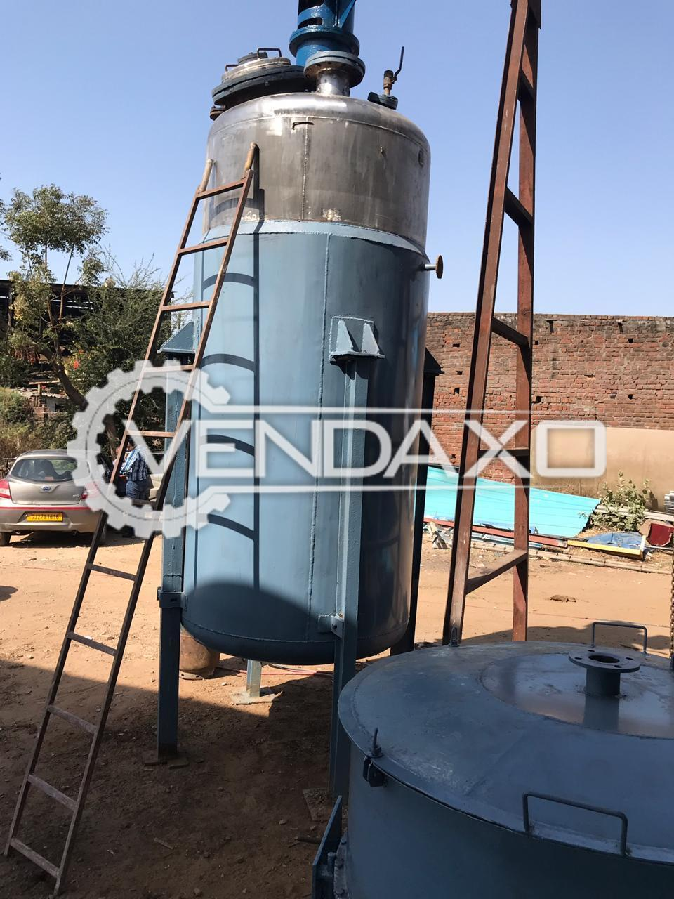 Indian Make 316 Reactor - 3.5 KL