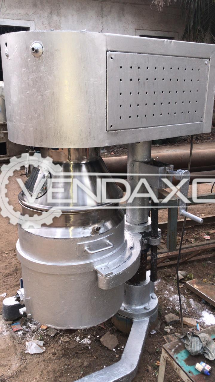 SS 316 Planetary Mixer - 100 Kg
