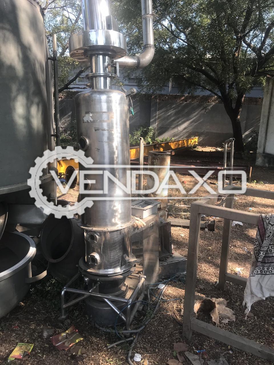 Gaylord Make Fluid Bed Dryer (FBD) - 15 Kg