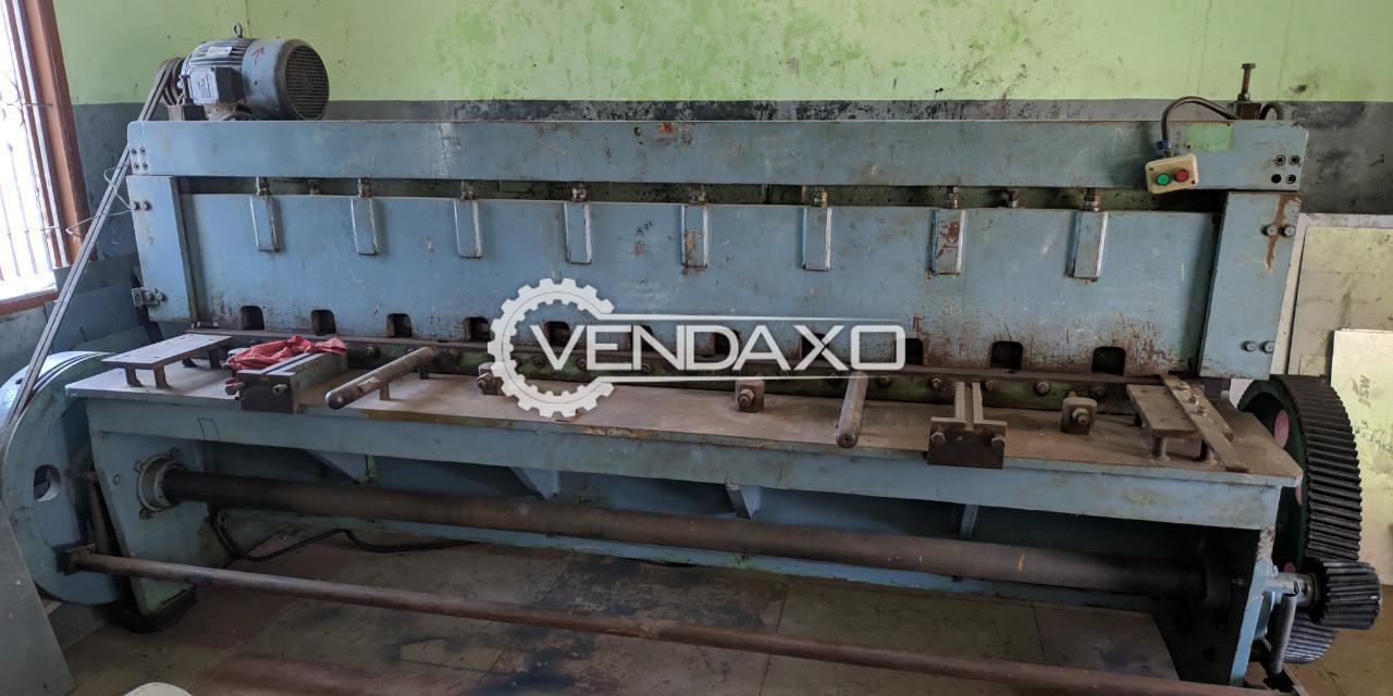 Ganesh Make Shearing Machine - 4 x 2500 mm