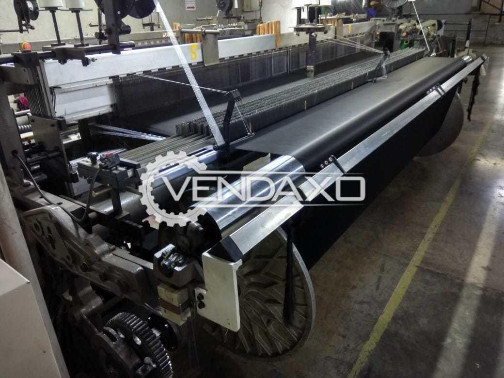 Tsudakoma ZAX-E Airjet Loom Machine - Width - 210 CM, 2003 Model