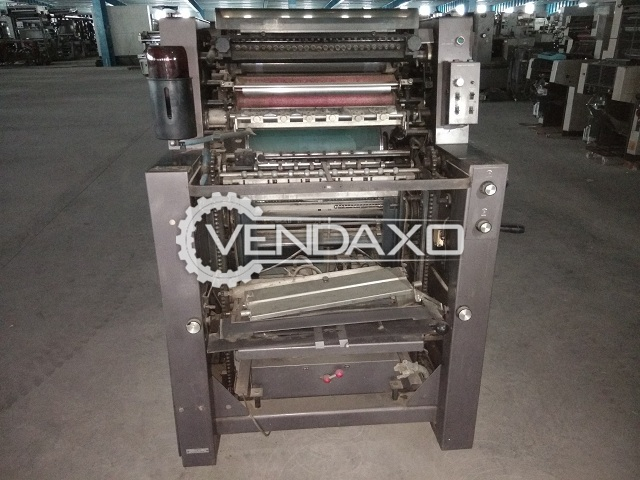Rotaprint Delta 95 Offset Printing Machine - Single Color, 1992 Model