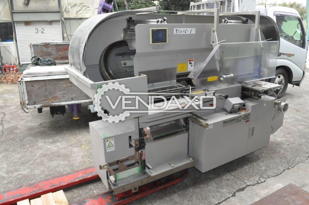Horizon BQ 450 Book Binding Machine - Thickness - 30 to 40 mm