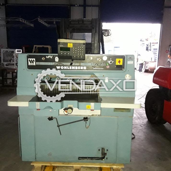 Wohlenberg 115 Paper Cutting Machine - Size - 30 Inch