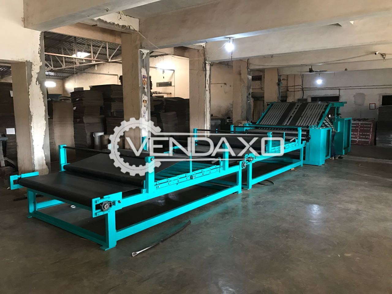 Super Printing Semi Automatic Flute Lamination Machine - Size - 52 x 65 CM