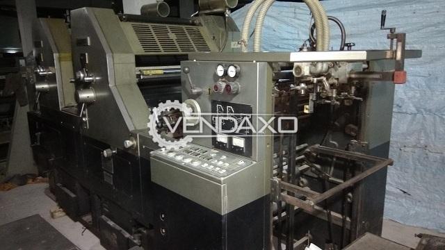 Hashimoto 552 Offset Printing Machine - 16 X 22 Inch, Single Color