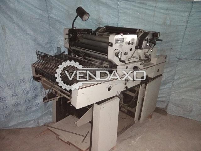 Multi Graphic 1962 XE Mini Offset Printing Machine - 12 x 18 Inch, 2 Color