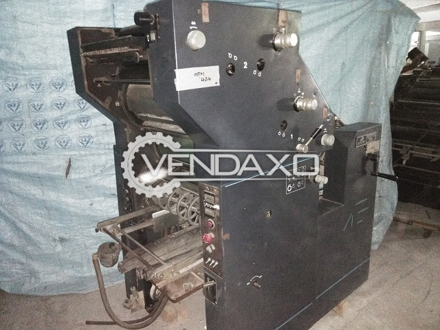ATF Davidson Perpector 702 P Offset Printing Machine - 17 x 14 Inch, Single Color