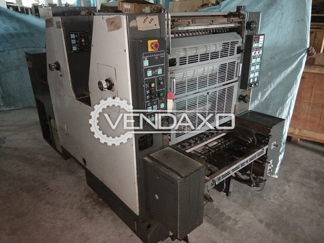 Hamada Alpha 252 Offset Printing Machine - 2 Color, 1995 Model