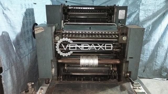 Hashimoto JMNP Offset Printing Machine - 16 X 22 Inch, Single Color