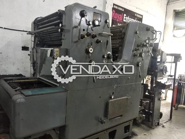 Heidelberg Sorkz Offset Printing Machine - 2 Color