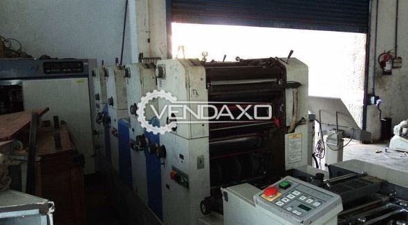 Ryobi 3304H Offset Printing Machine - 4 Color, 1996 Model