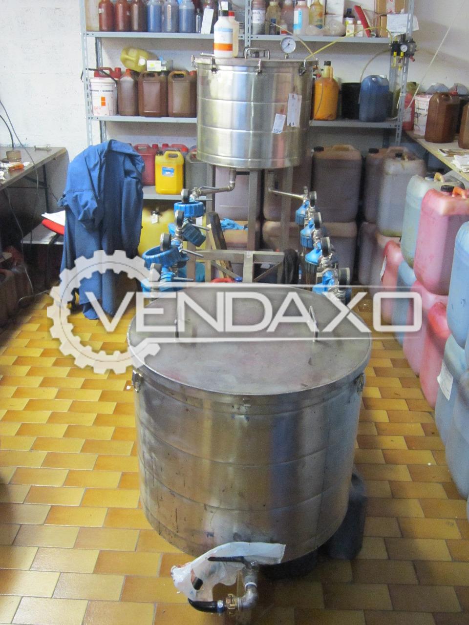 Italy Make Micro Filtration Machine - 0.8 Micron
