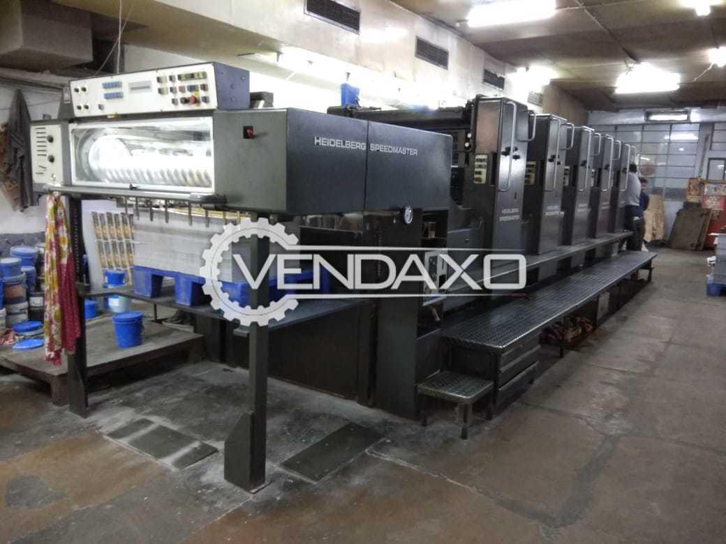 Heidelberg SM 102 F Offset Printing Machine - 5 Color