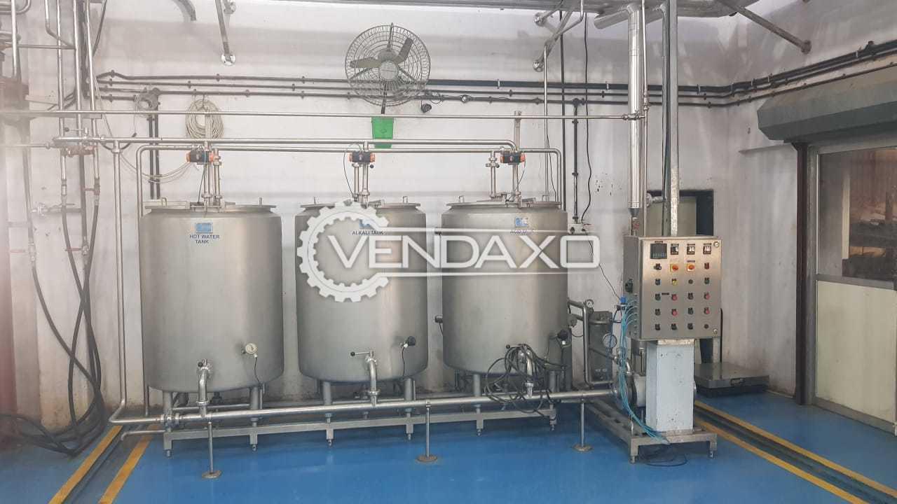 Goma Milk Processing Plant - 1000 Liter per Hour, 2018 Model