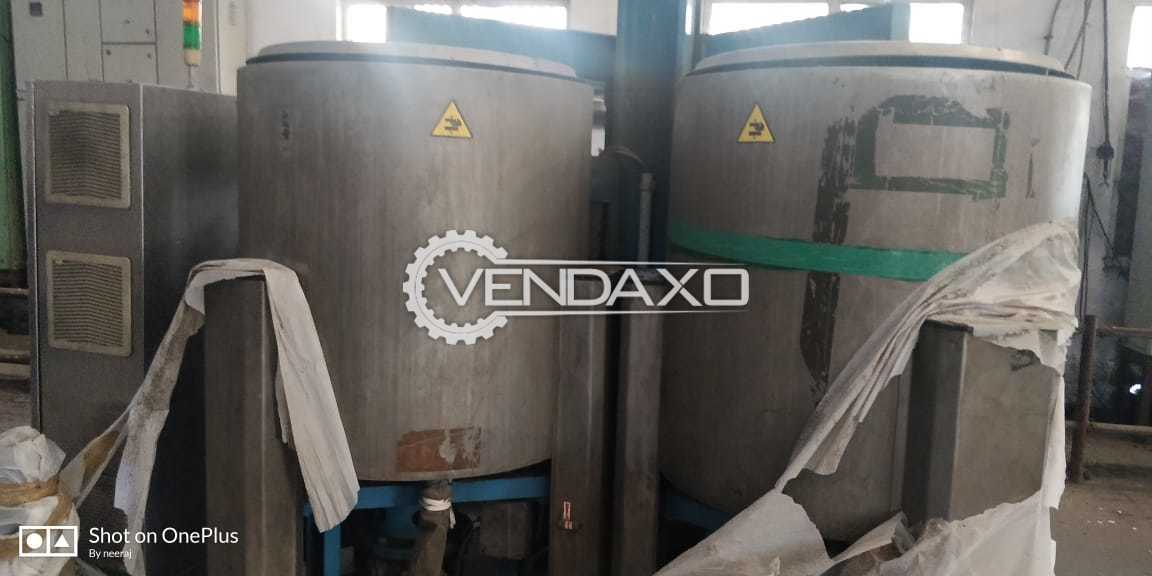 Available For Sale Imported Cone Dyeing Plant - 10 to 11 Ton