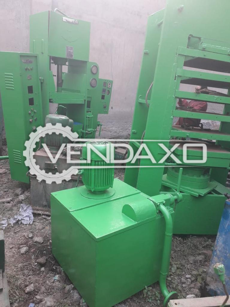 Rubber Moulding Machine - 24 X 24 Inch