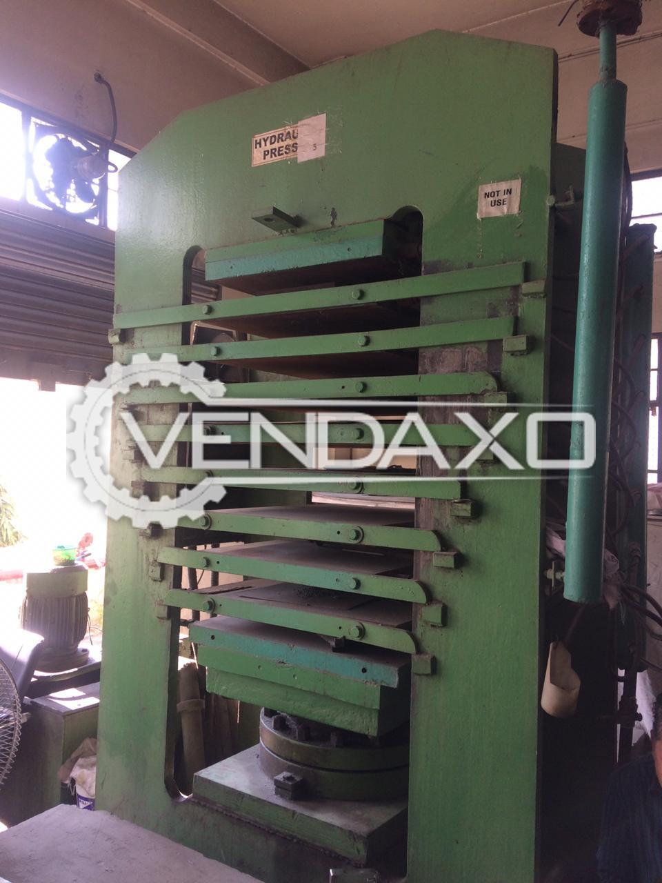 Rubber Moulding Press Machine - 24 x 28 Inch