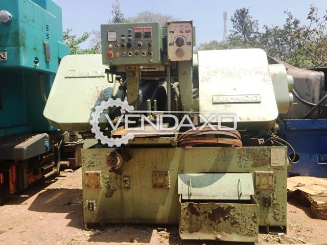 AMADA H 400 Heavy Duty Band Saw Cutting Machine  - 406 x 406 MM