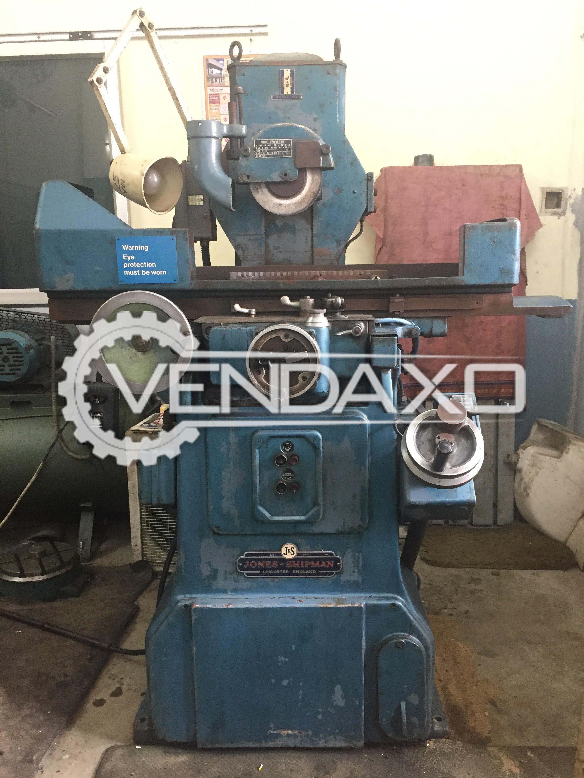 Jones-Shipmen 540P Surface Grinding Machine