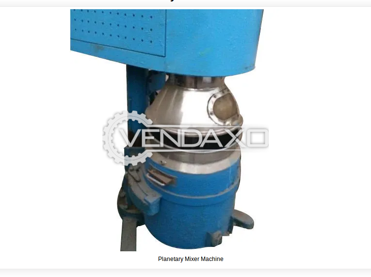 Planetary Mixer - 100 Liter
