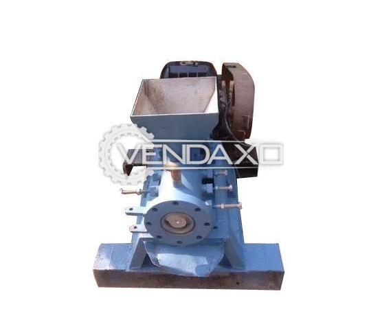 Indian Make Single Screw Extruder Machine - 50-100 kg/hr