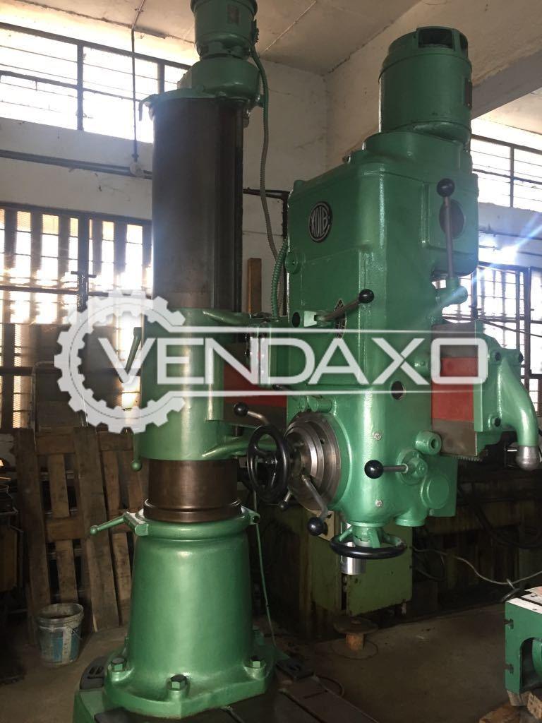 Kolb RM60 Radial Drill Machine 60 mm